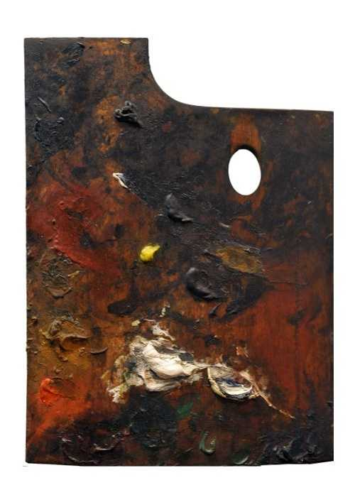 Sennelier y la paleta de Paul Cézanne 860cezannepaletteverticale