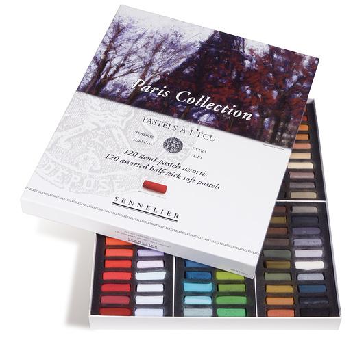 Estuche y Caja de cartón de medio pasteles n132238-00-pastecu120